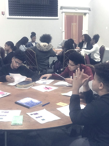 Middle/High School Youth in Workshop