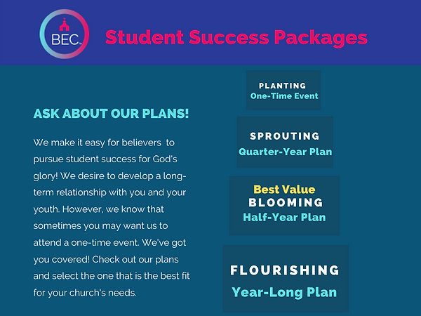BEC Student Success Packages