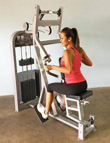 Pro-fit seated row machine (new)
