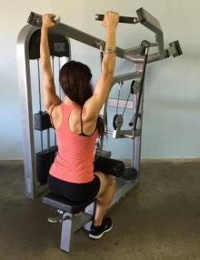 Pro-fit lat pulldown machine (new)