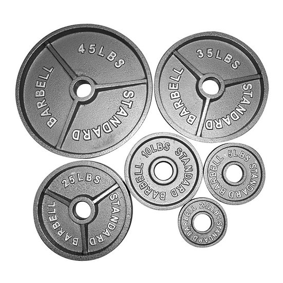 Cast iron Olympic weights