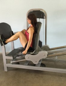 Pro-fit seated leg press (new)
