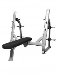 Signature olympic flat bench (new)