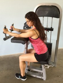 Pro-fit tricep extension machine (new)