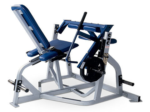 Used Hammer Strength Plate Loaded Seated Leg Curl