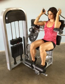Pro-fit seated abdominal crunch (new)