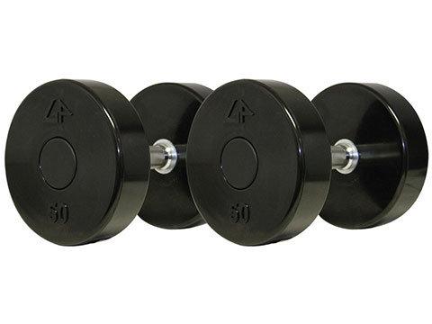 GPI solid urethane dumbell set (55-100lb)