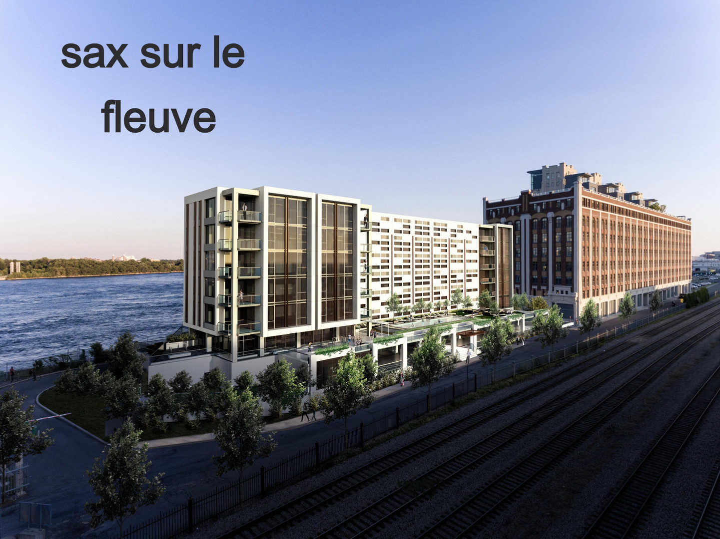 SAX SUR LE FLEUVE MTL