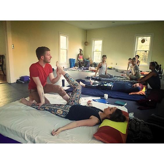 Vedic Thai Yoga Bodywork - Legs & Hips