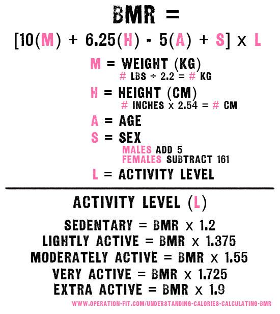 BMR-equation