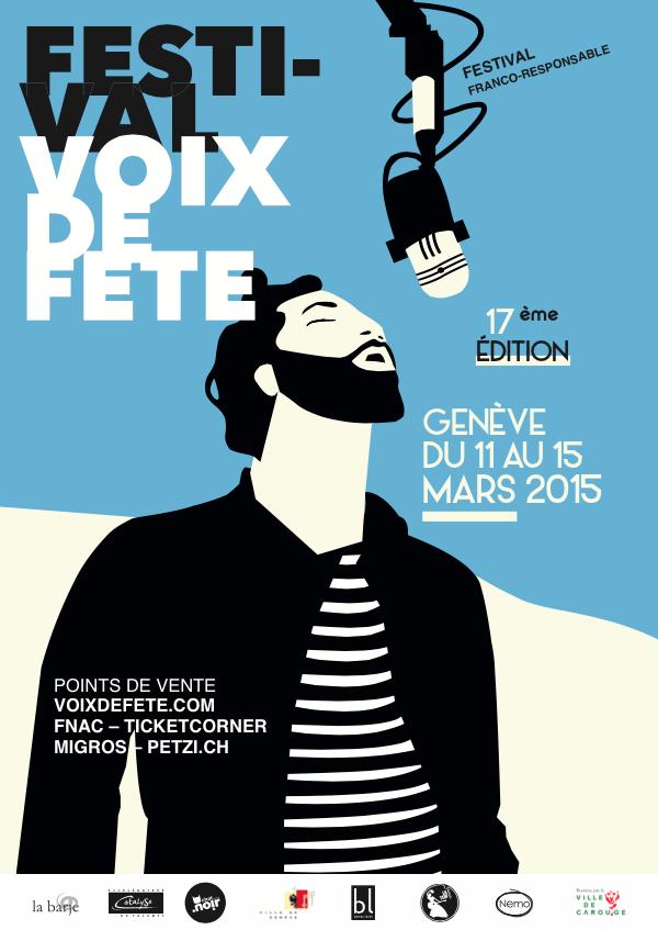 Poster Festival Voix de Fête