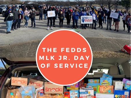 FEDDs MLK Jr. Day of Service - THANK YOU!