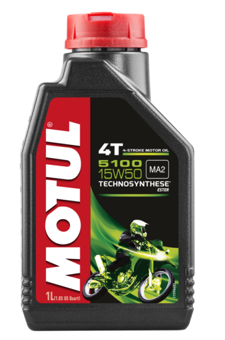 Óleo para Motor Motul 5100 15W50 (Technosynthese®)