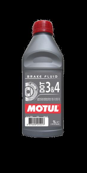 Fluido de freio Motul DOT 3 & 4 (100% Sintético)