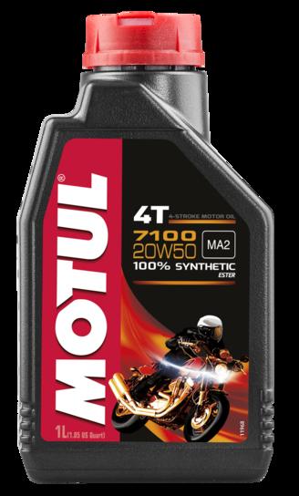Óleo para Motor Motul 7100 20W50 (100% Sintético)