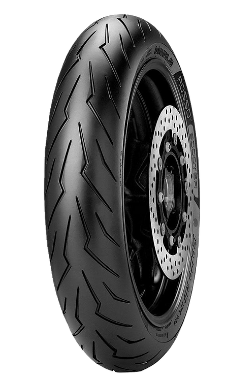 Pneu Pirelli 120/70-15 R Diablo Rosso Scooter 56H TL (Dianteiro)