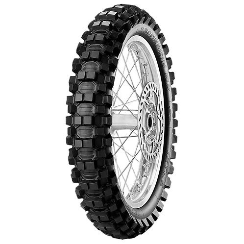 Pneu Pirelli 90/100-14 Scorpion MX Extra J 49M TT (Traseiro)
