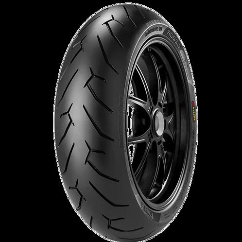 Pneu Pirelli 190/55-17 ZR Diablo Rosso 2 75W TL (Traseiro)