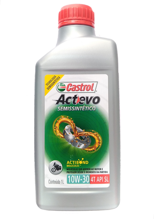 Óleo para motor Castrol Actevo 10W30 (Semi-Sintético)