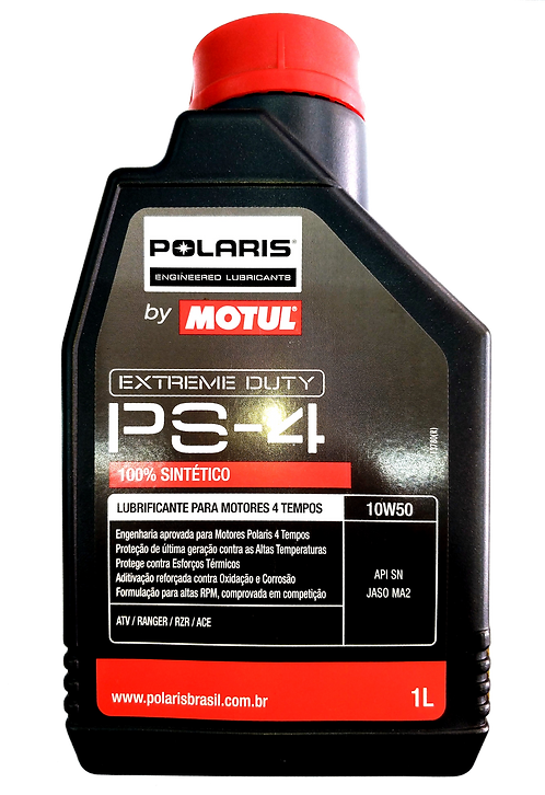 Óleo para Motor Motul Polaris PS-4 10W50 (100% Sintético)
