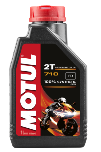 Óleo para Motor Motul 710 2T (100% Sintético)