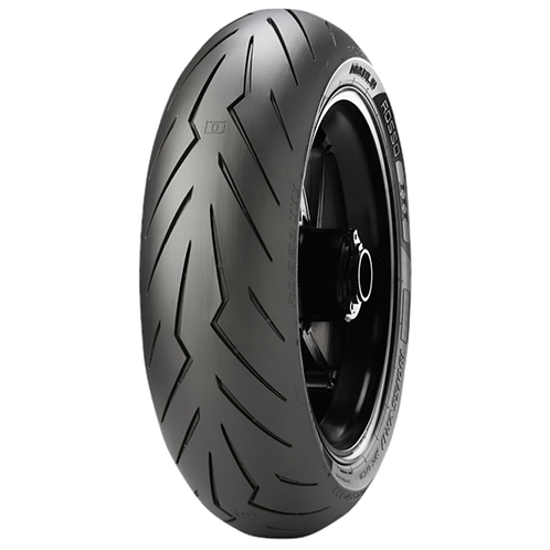 Pneu Pirelli 190/55-17 ZR Diablo Rosso 3 75W TL (Traseiro)