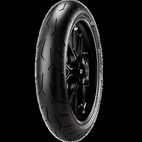 Pneu Pirelli 120/70-17 ZR Diablo Rosso Corsa 58W TL (Dianteiro)