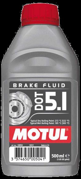 Fluido de freio Motul DOT 5.1 (100% Sintético)