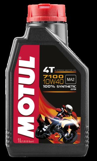 Óleo para Motor Motul 7100 10W40 (100% Sintético)