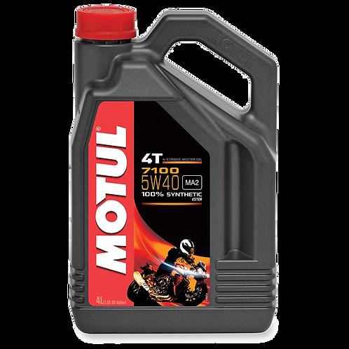 Óleo para Motor Motul 7100 5W40 (100% Sintético) 4L