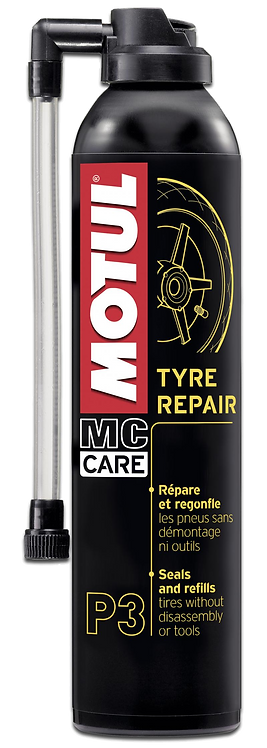 Reparador de pneu Motul Mc Care ™ P3 Tyre Repair