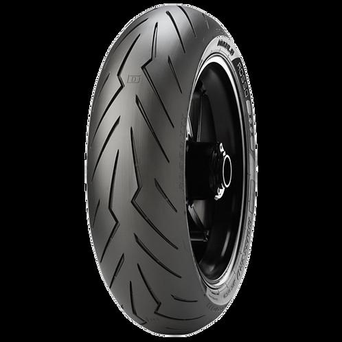 Pneu Pirelli 150/60-17 ZR Diablo Rosso 3 66W TL (Traseiro)