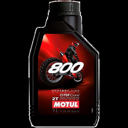 Óleo para Motor Motul 800 2T (100% Sintético)
