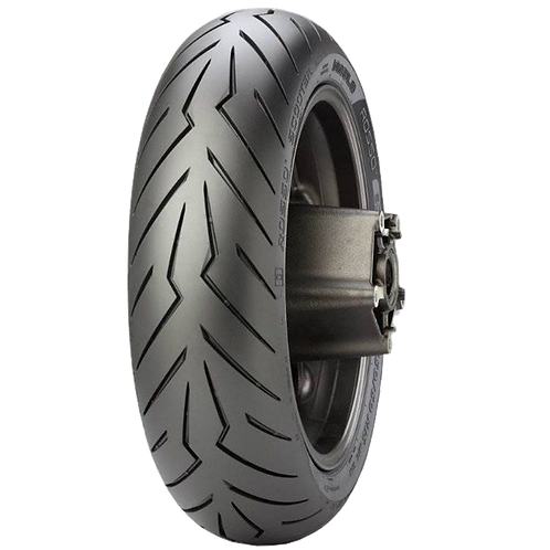 Pneu Pirelli 160/60-15 R Diablo Rosso Scooter 67H TL (Traseiro)