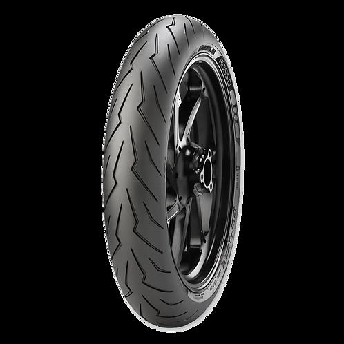 Pneu Pirelli 120/70-17 ZR Diablo Rosso 3 58W TL (Dianteiro)