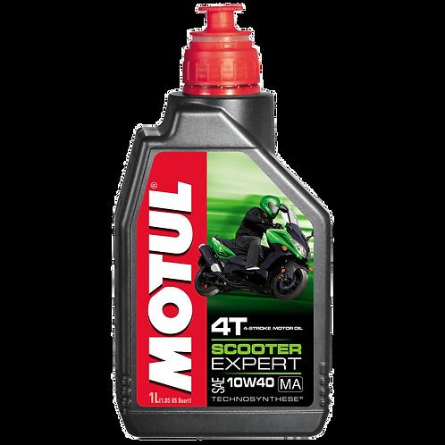 Óleo para Motor Motul Scooter Expert 10W40 (Technosynthese®)