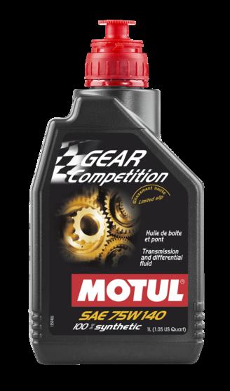Óleo para transmissão Motul Gear Competition 75W140 (100% Sintético)