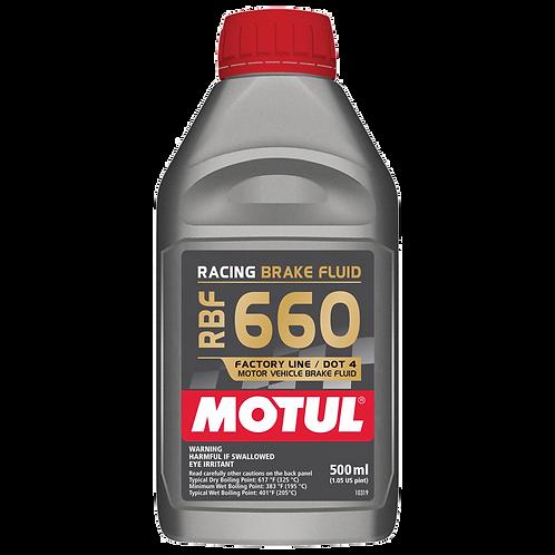Fluido de freio Motul RBF 660 (100% Sintético)