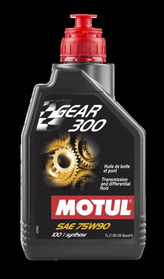 Óleo para transmissão Motul Gear 300 75W90 (100% Sintético)