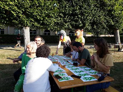 Bingo de la main verte