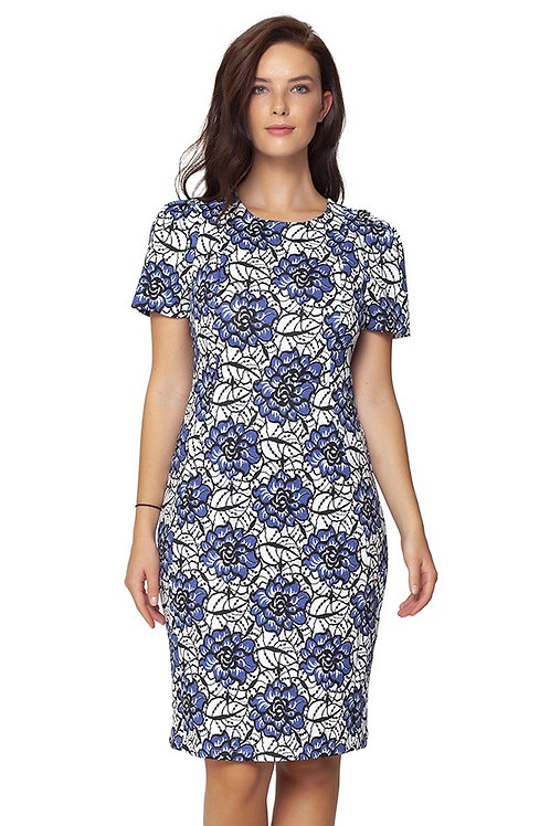 ISLE Delphi Short Sleeve Sheath Dress