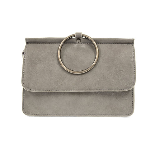 Joy Susan Aria Ring Bag - Grey