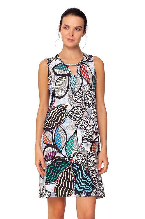 ISLE Tulum Keyhole Shift Dress