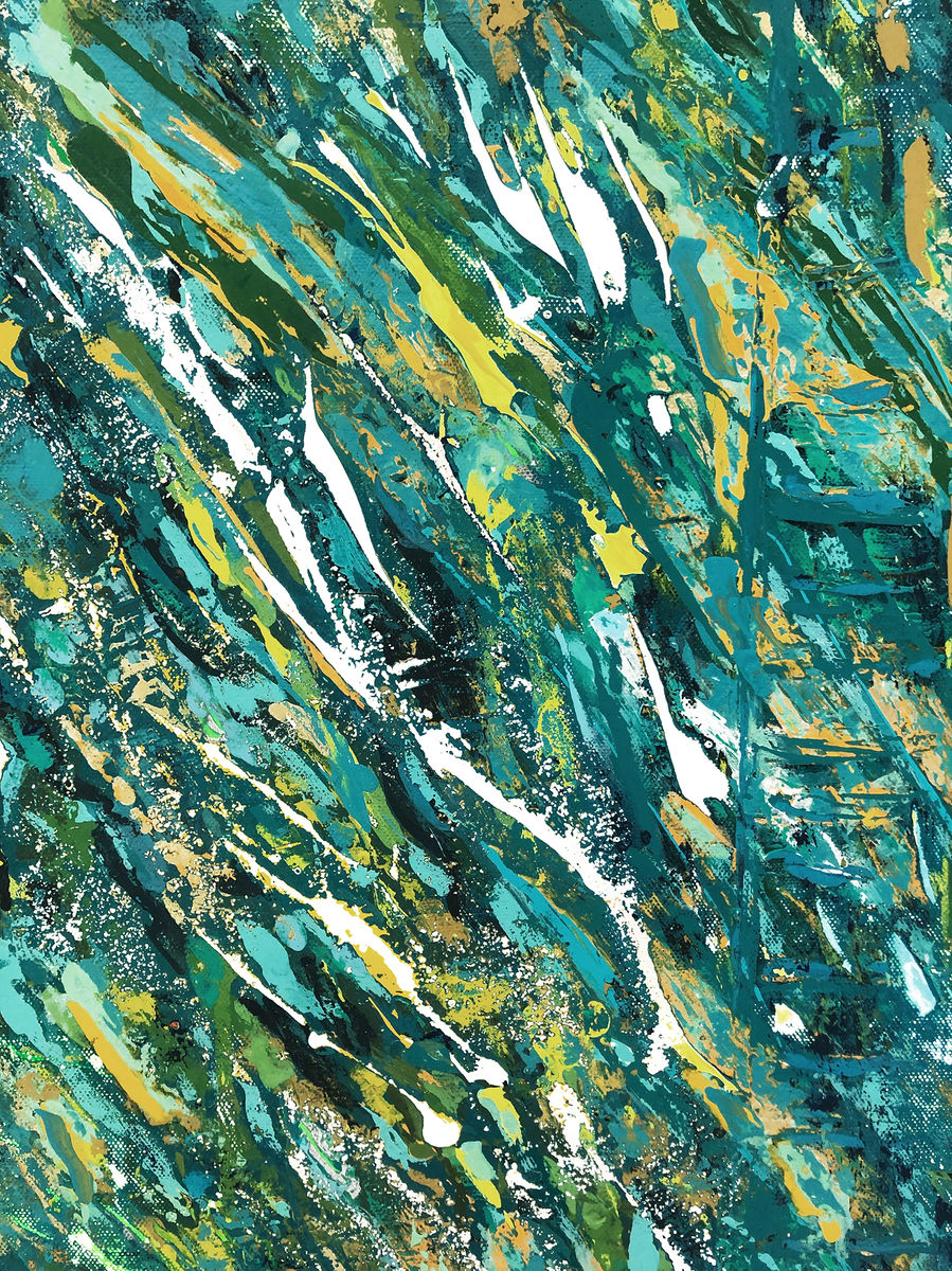 Turquoise Flow_Detail 2