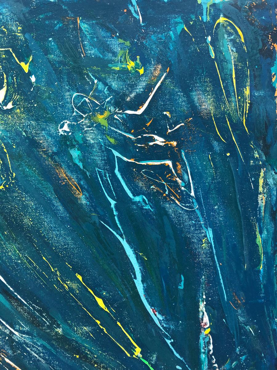 Dark Turquoise Flow_Detail