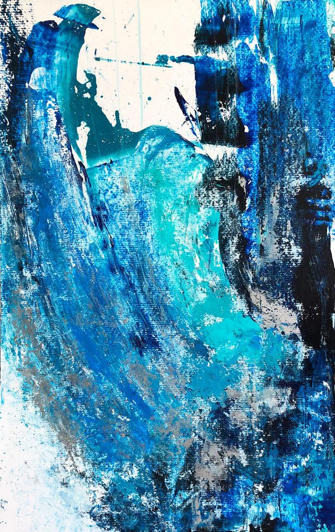 Turquoise Splashes