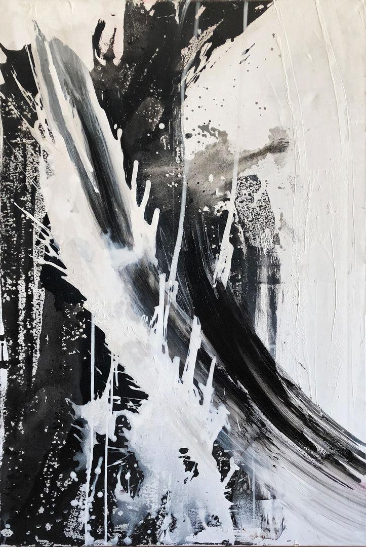 Black & White Splashes