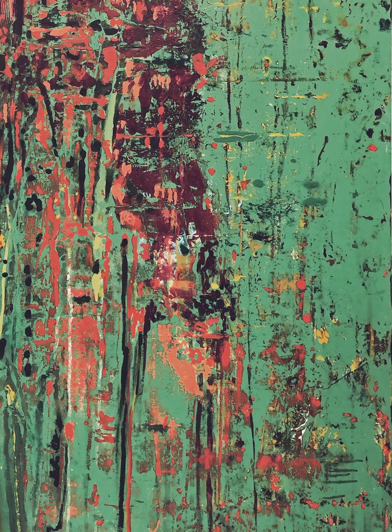 Green Arabic Tile_Detail