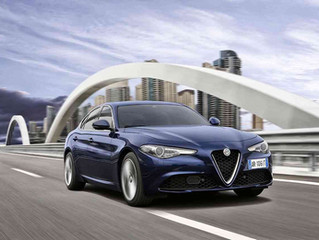 ALFA ROMEO GIULIA NOW AVAILABLE WITH 2.9% PCP FINANCE FOR A LIMITED TIME PERIOD