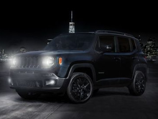 JEEP ANNOUNCES NEW RENEGADE NIGHT EAGLE SPECIAL EDITION